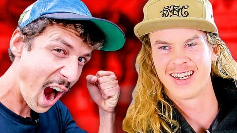 ANDY ANDERSON VS JONNY GIGER | QUARANTINE GAME OF SKATE ROUND 3 | Braille Skateboarding