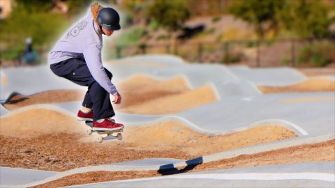ANDY ANDERSON VS THE PUMP TRACK | Braille Skateboarding