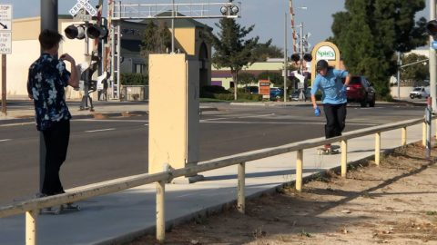 ANDY ANDERSON VS WORLDS LONGEST RAIL !!! - NKA VIDS - | Nka Vids Skateboarding