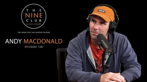 Andy Macdonald | The Nine Club With Chris Roberts - Episode 126 | The Nine Club