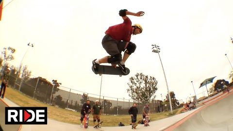 Andy Macdonald Video Part  - Linda Vista Skatepark | RIDE Channel