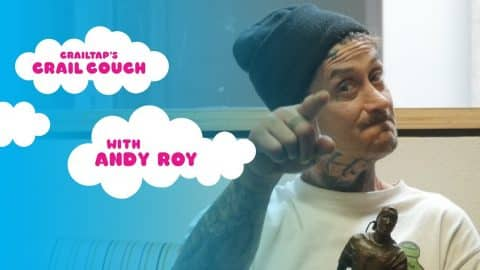 Andy Roy on the Crail Couch (with Mike Carroll) - crailtap