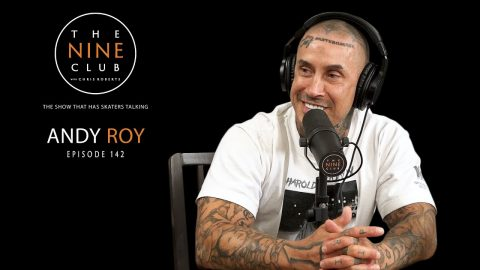 Andy Roy | The Nine Club With Chris Roberts - Episode 142 | The Nine Club