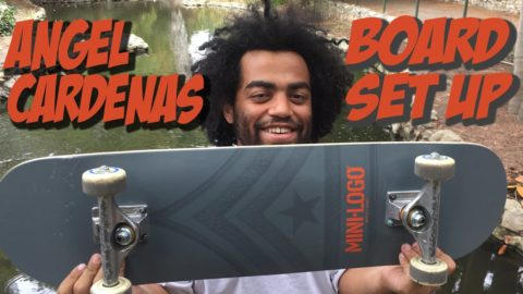 ANGEL CARDENAS BOARD SET UP & INTERVIEW !!!