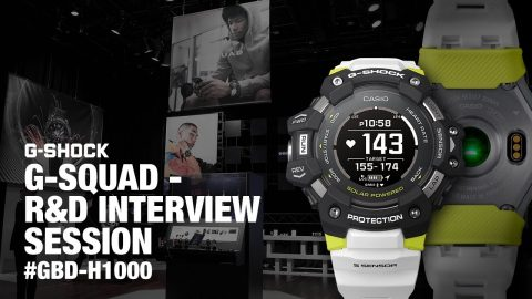 Announcement of the year: First G-SHOCK with heart rate monitor | GBD-H1000 - R&D INTERVIEW SESSION | gshockeu