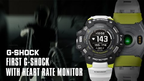 Announcement of the year: First G-SHOCK with heart rate monitor | GBD-H1000 - Absolute Toughness | gshockeu