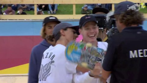 ANOTHER mindblowing winning run from Jake Ilardi at Red Bull Rollercoaster | TheBoardr