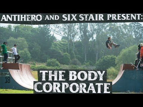 Antihero & Six Stair: The Body Corporate - Brian Anderson, Jeff Grosso, Sean Gutierrez - Trailer - Echoboom Sports