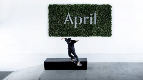 "April Skateboards ""Park Update"" 