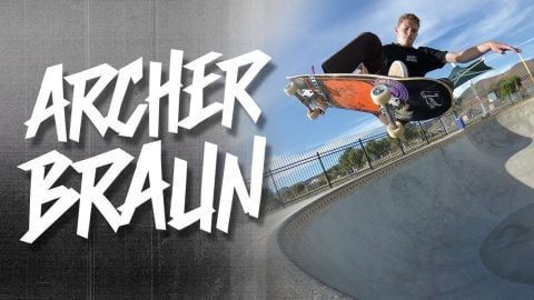 Archer Braun For Vagrant - Vagrant skates