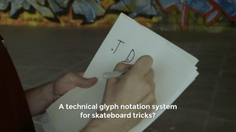 ARCHIGLYPHICS: The Language of Skateboarding (event preview) - HOLD TIGHT LONDON