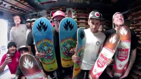 Auby Taylor Pro Party! - Black Label Skateboards