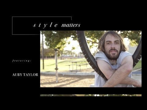 Auby Taylor - Style Matters - The Berrics