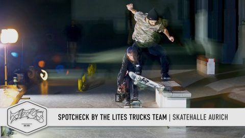 Aurich Skatepark - Check Out by the Lites Trucks Team - Titus