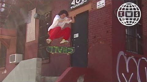 Austin Holcolm NYC Part from Challers | TransWorld SKATEboarding
