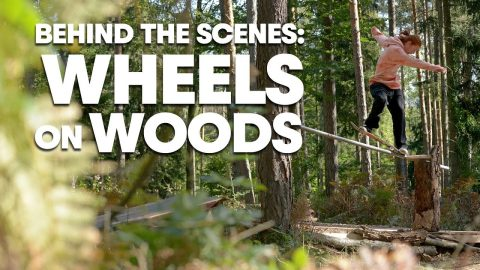 Austrian Forrest Skating w/ Ryan Decenzo & Friends Behind The Scenes | WHEELS ON WOOD | Red Bull Skateboarding