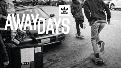 Away Days - Adidas Skateboarding - Full Part feat. Günes Özdogan, Pete Eldridge | Echoboom Sports