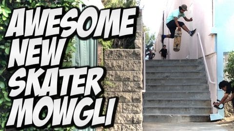 AWESOME NEW SKATER MOGLEY HERRERA !!! - A DAY WITH NKA - - Nka Vids Skateboarding