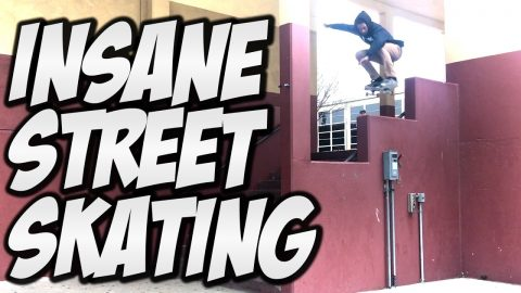 AWESOME NEW SKATERS !!! - A DAY WITH NKA - - Nka Vids Skateboarding