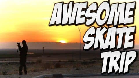 AWESOME TRIP TO BRAILLE PART #1 - A DAY WITH NKA - - Nka Vids Skateboarding