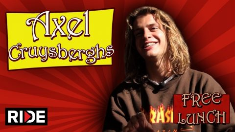Axel Cruysberghs Talks Toy Machine, Lizzie Armanto, and More - Free Lunch - RIDE Channel