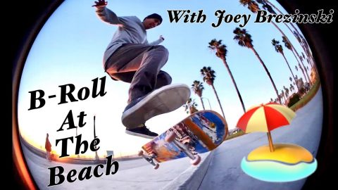 B Roll At The Beach With Joey Brezinski - Joey Brezinski