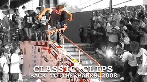 Back to The Brooklyn Banks 2008 Skateboarding NYC | Skateintheday