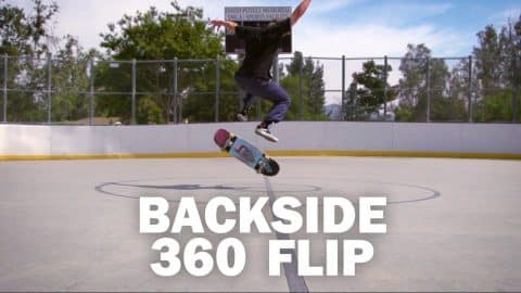 Backside 360 Flip: Freddy Ernst || ShortSided - Brett Novak