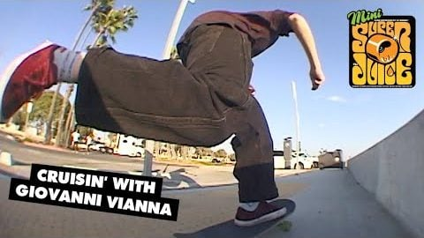 Backtails on Super Juice? Cruisin' LBC with Giovanni Vianna | OJ Wheels | OJ Wheels