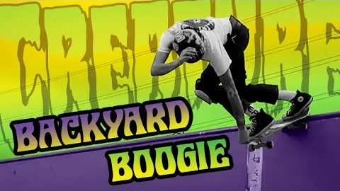 BACKYARD BOOGIE with Navarrette, Russell, Kimbel and Friends | Creature Skateboards | Creature Skateboards