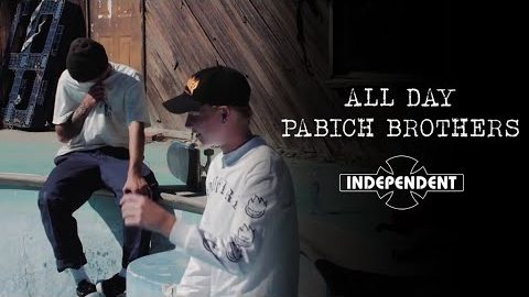 Backyard Pools and More! ALL DAY w/ The Pabich Bros! | Independent Trucks