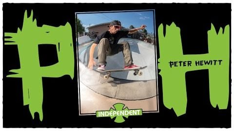 Backyard Rips W/ Peter Hewitt's Signature Truck | Behind The Ad | Independent Trucks