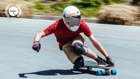 Badass Downhill Skateboarding   No Paws Down   Skuff TV Skate   Skuff TV - Action & Extreme Sports Channel