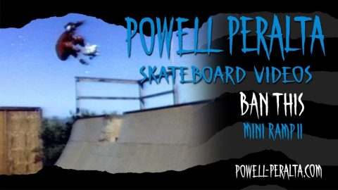 BAN THIS CH. 22 MINI RAMP II | Powell Peralta
