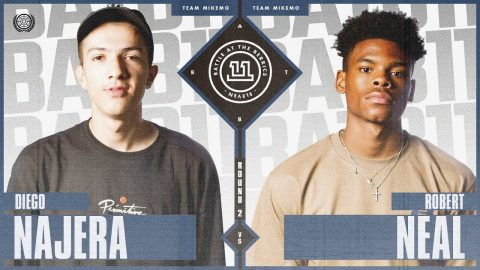 BATB 11 | Diego Najera vs. Robert Neal - Round 2 | The Berrics