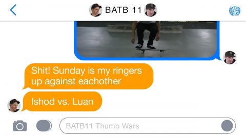 BATB 11 | Thumb Wars - Round 3: Week 1 | The Berrics