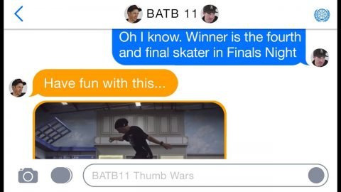 BATB 11 | Thumb Wars: The Last Game Before Finals Night | The Berrics