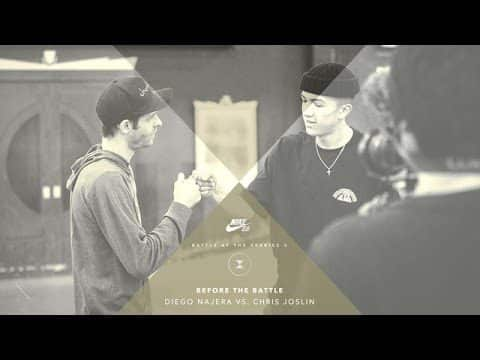 BATB X | Before The Battle: Chris Joslin vs. Diego Najera - The Berrics