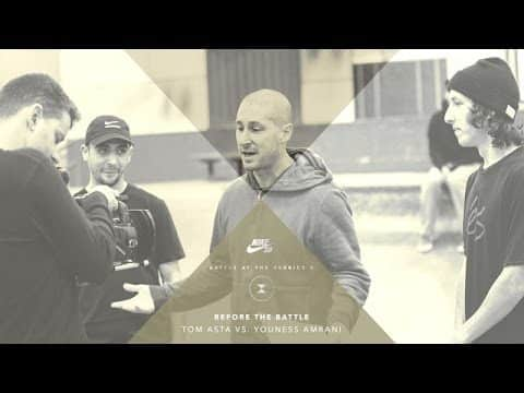 BATB X | Before The Battle - Tom Asta vs. Youness Amrani - The Berrics