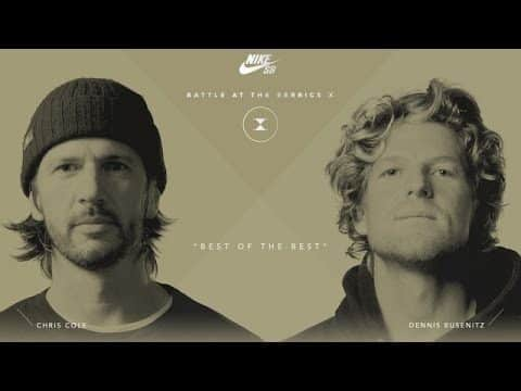 BATB X | Chris Cole vs. Dennis Busenitz - Round 1 - The Berrics