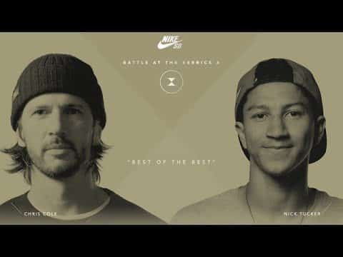 BATB X | Chris Cole vs. Nick Tucker - Round 2  **copy** - The Berrics