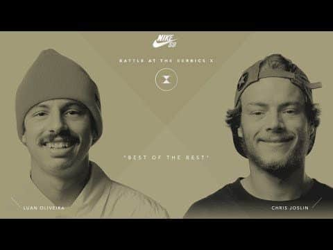 BATB X | Luan Oliveira vs. Chris Joslin - Round 3 - The Berrics