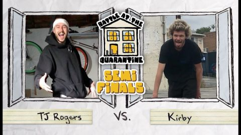 BATQ SEMIFINALS | TJ Rogers Vs. Kirby | The Berrics