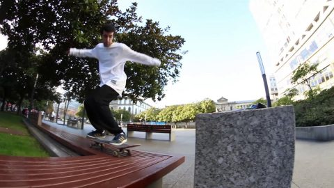 BD Clothing, Juan Castaño & his favorite spot | BDskateCo