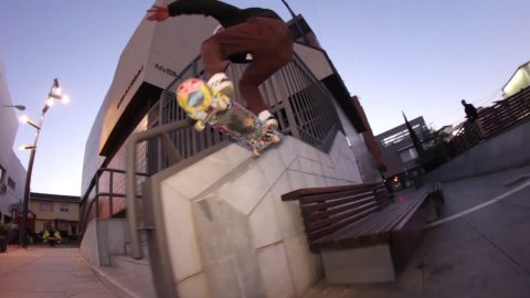 "BDSKATECO: The X video intro & Oscar Morales ""Fly"" part 