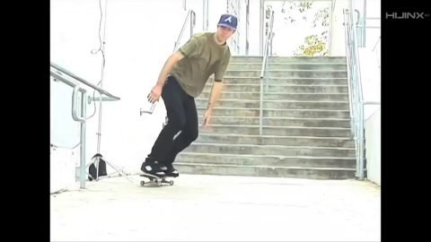 Beagle Snacks: Andrew Reynolds Switch Kickflip 14 Stair | HIJINX Net