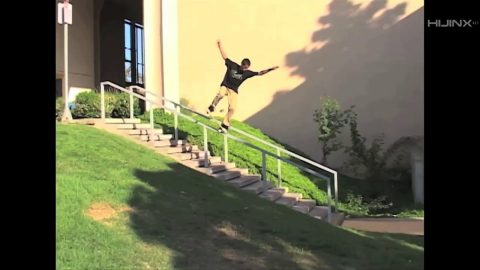 BEAGLE Snacks: Paul Flores - Nosegrind 17 Stair Rail at UCI | HIJINX Net