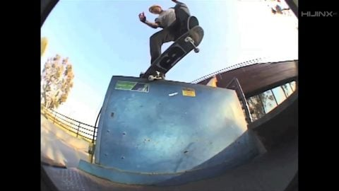 BEAGLE Snacks: Shane Heyl - Crooked Grind Nollie Heelflip Out | HIJINX Net