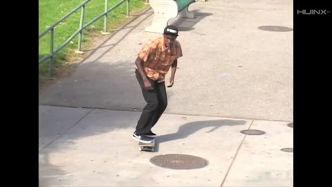 BEAGLE Snacks: Theotis Beasley Double Backside Kickflip 10-Stair | HIJINX Net