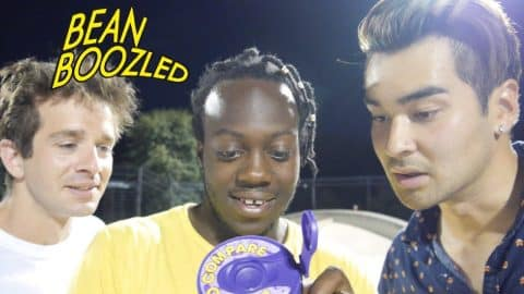 BEAN BOOZLED GAME OF SKATE!!! - Vinh Banh